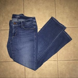 Ann Taylor LOFT Curvy Straight Women's Jeans Sz 4